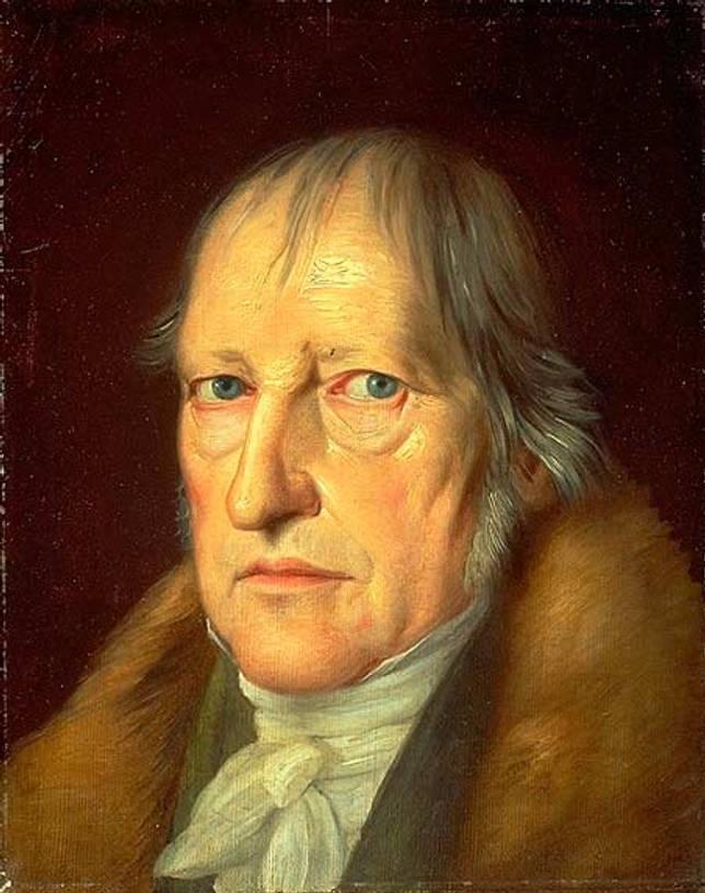 Портрет Гегеля