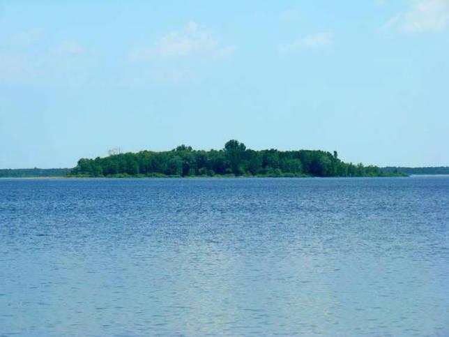 Шацкие озера остров влюбленных